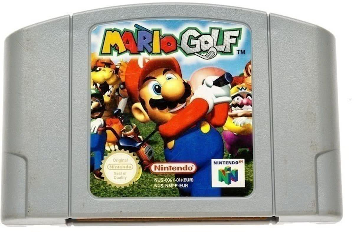 Mario Golf -   64 [N64] Game PAL